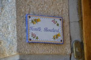 Sonnette Gîte Bouchard