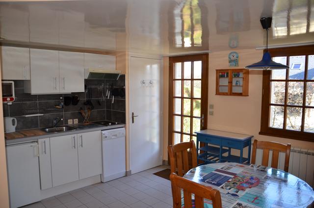 Studio - cuisine - Gîtes Bouchard